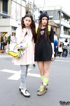 Sisters Mizuho and Yurika again, spring 2013.