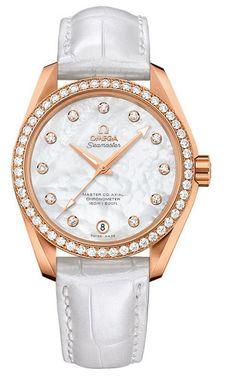664797ead11f Aqua Terra 150m Master Co-Axial 38.5mm. Omega Seamaster LadiesOmega Watches  ...