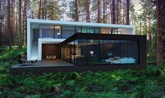 Casa vacacional en el bosque ¡increíble!