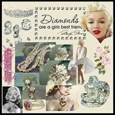 Diamonds Are a Girl's Best Friend www.etsy.com/listing/248186805