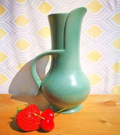 Art Deco Jug Cleland Brentleigh Ware Jug / Vase. Art Deco