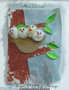 + que 4 dans le nid d'alban – Handwerk und Basteln Bird Crafts, Animal Crafts, Easter Crafts, Diy And Crafts, Stick Crafts, Unicorn Crafts, Resin Crafts, Projects For Kids, Diy For Kids