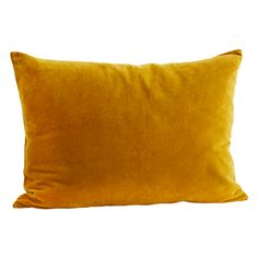 Rectangular Velvet Cushion in Mustard Yellow.   Luxurious and rich in colour, the rectangular shape of this velvet cushion makes it the perfect stylish addition to your sofa or bed. Style with a mixture of patterned, plain + textured cushions.   (Lifestyle pic shows cushion in other colours!)