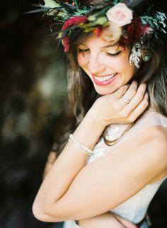 Flower Crown Photography by http://brumleyandwells.com/derek-rachel/