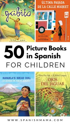 There are many wonderful books in Spanish for kids, available to buy online. This post includes over 50 titles from native authors, as well as a printable list of books you can take with you to the library. Spanish Books For Kids, Spanish Lessons For Kids, Spanish Basics, Spanish Teaching Resources, Spanish Activities, Preschool Spanish, Listening Activities, Spanish Class, 4th Grade Book List