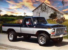 Ford F150 Truck, Ford Pickup Trucks, 79 Ford Truck, Ford 4x4, 4x4 Trucks, 1979 Ford F150, Classic Ford Trucks, Truck Paint, Trucks And Girls