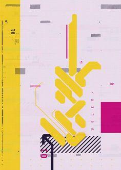 A Style Guide for a Dark Future. Retro Design, Web Design, Layout Design, Design Art, Logo Design, Typography Logo, Graphic Design Typography, Graphic Art, Poster Design