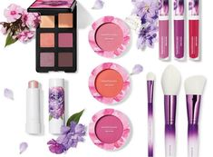 Bare Minerals Floral Utopia Brings Bright Colors for Spring 2019 (Musings of a Muse) Black Girl Makeup, Girls Makeup, Bare Minerals, Nude Eyeshadow, Lip Lacquer, Purple Ombre, No Foundation Makeup, Perfect Makeup, Makeup Goals