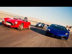 On this episode of HOT ROD Unlimited, the team heads to Vegas to see whats faster: a Factory Five kit car or a 542hp rear-wheel drive Lamborghini Gallardo. Associate Editor Jesse Kiser, Staff Editor Brandan Gillogly and professional driver Mike Essa pilot four of Factory Fives kit cars to see which ones the best on the 1/4-mile, road course, ...