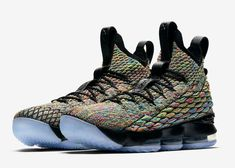 first rate 373b4 9c063 Nike LeBron 15 Four Horsemen Color  Multi-Color Black Style Code  897648