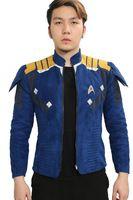 Captain Kirk Jacket Coat Star Trek Beyond COSplay Costume Gents Suit Props