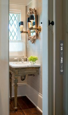 So neat - Donald Lococo Architects | Classic | American Tudor | CHECK OUT MORE VANITIES AND VANITY IDEAS AT DECOPINS.COM | #vanities #vanities #vanity #jewelrydrawer #jewelrychest #jewelry #mirror #mirroredvanity #jewels #frenchvanity #antiquevanity #bluevanity #purplevanity #pinkvanity #blackvanity #whitevanity #redvanity #greenvanity #yellowvanity