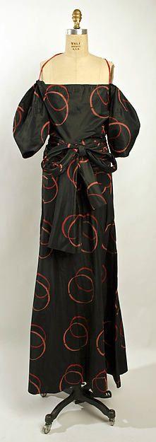Evening dress Designer: Madeleine Vionnet  (French, Chilleurs-aux-Bois 1876–1975 Paris) Date: spring/summer 1935