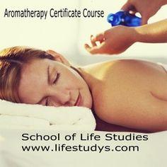 Aromatherapy - Holistic Therapy Courses http://www.lifestudys.com/basic-aromatherapy.html
