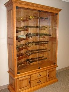 corner gun cabinet | furniture | pinterest | guns, men cave and