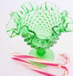 Fenton hobnail - deprression glass