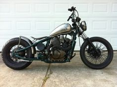Honda shadow chopper