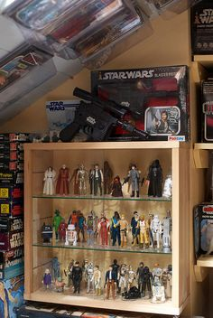 Star Wars vintage action figures by eyeSPIVE, via Flickr