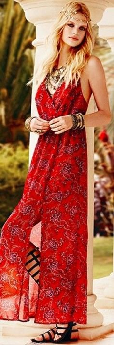 Bohemian in Red <3
