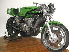 Kawasaki France KR750 Water-cooled Racer for Yvon DuHamel  - 1978