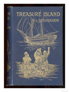 Treasure Island, Cover of the 1899 Edition Giclee Print at AllPosters.com