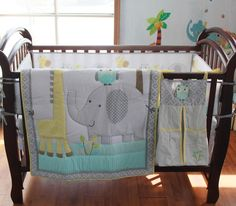 Blue Elephant 8pcs Crib Set Baby Bedding Https Www Dp B01k6nnxv8 Ref Cm Sw R Pi X Nu0xb2g8x3rn Pinterest