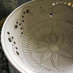 "155 Likes, 2 Comments - Kim Press (@sailing_adrift_studios) on Instagram: ""#pottery #porcelain #ceramics #clay #bowl #fruitbowl #handmade #madebyhand #art #functionalart…"""