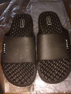 6d35a115c45f33 Never Worn Brown Sport Comfy Sandals Men Or Women 41 LH-03 Clean Rubber  Color
