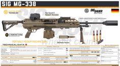Light Machine Gun, Sig Sauer, Firearms, Weapons, Guns, Military Personnel, Weapons Guns, Weapons Guns, Weapon