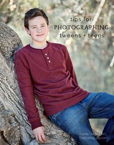 Photography Tips for photographing teens and tweens by Salt Lake City Utah photographer Carrie Owens Teen Photography, Photography Lessons, Children Photography, Winter Photography, Framing Photography, Salt Lake City, Carrie, Boy Photo Shoot, Photo Shoots