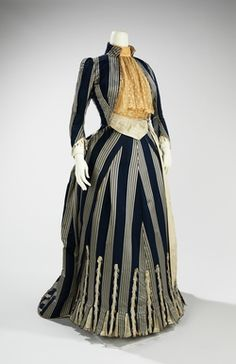 Walking Dress 1885 Designed by Charles Frederick Worth