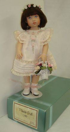 2001 Helen Kish Flower Girl Bethany 12 in vinyl LE50pcs Museum Display w/box #Dolls. SOLD for $361.78 on 4/15/15