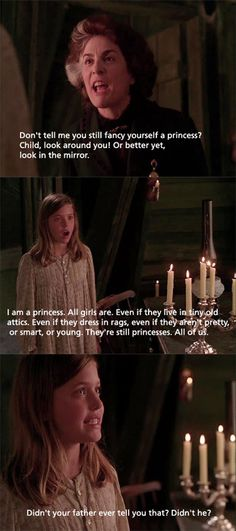 A Little Princess : This movie STILL makes me cry to this day!