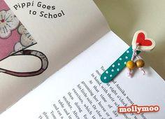 Diy back to school : DIY  handmade bookmark for kids