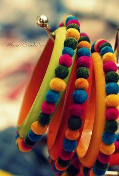 ~` vibrant bangles `~