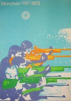 Munich 1972 Olympics Poster by Otl Aicher