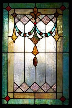victorian stain glass