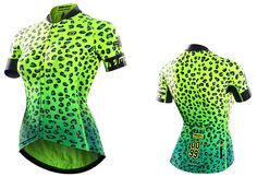 Monton 2016 Women's Short Sleeve Race Fit Fluorescent Cycling Jersey Online Sale