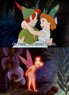 I love old tink with attitude!