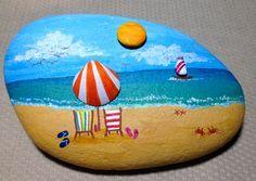 Fun beach scene...