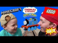 Thomas and Friends (lots of friends) Take-n-play T&E TV - YouTube