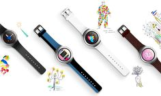 Samsung Announces iPhone Support for Gear Smartwatch Lineup Smartwatch, Samsung, Gear S3, Iphone Design, Galaxy S2, Watch Faces, Lineup, Smartphone, Gadgets