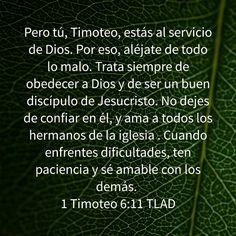 Timoteo, Sara, Jorge, Laura - Sea cual sea nuestro nombre, al igual que Timoteo estamos al servicio de Dios. El que lea, entienda