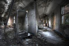 Hellingley abandoned asylum