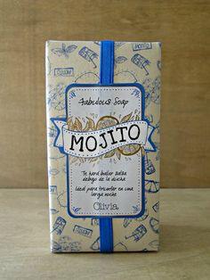 """Mojito"" Jabón de Olivia Soaps"