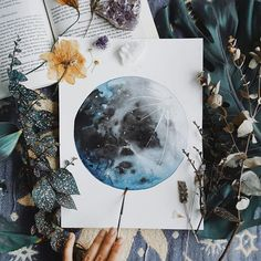 Back home with an exciting announcement! I now take orders for custom watercolour Moon Paintings - so not only can you now buy an original, but a Moon that is painted just for YOU. Link to my Etsy is in bio When placing your order, select a primary colour and a secondary colour for your Moon, and it will be completed and shipped in 3-4 days. Very happy to be back into it and all I want to do is just paint all day. I feel so inspired and filled with love and I can't wait to share it with…