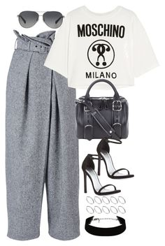 """""""Sin título #1091"""" by osnapitzvic ❤ liked on Polyvore featuring STELLA McCARTNEY, Moschino, Coach, Alexander Wang, Stuart Weitzman and ASOS"""