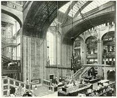 Interior of Wertheim Department Store Berlin