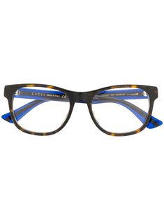 fb221a094c0 GUCCI GUCCI EYEWEAR SQUARE FRAME GLASSES - BROWN.  gucci