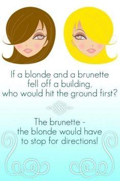 Charming phrase Blonde brunette joke redhead removed